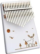 MAODOXIANG Thumb Pianos 17 teclas Kalimba pulgar Piano hecho por una sola placa de madera de alta calidad cuerpo de caoba ...