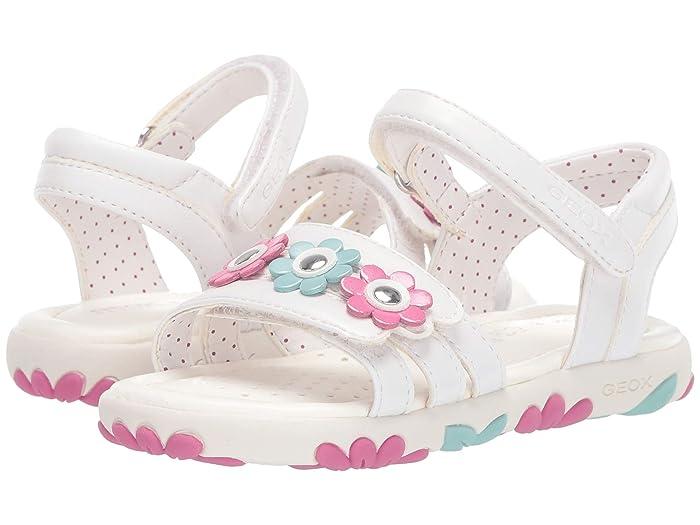 Geox Kids Sandal Karly Girl 30 (Toddler)  