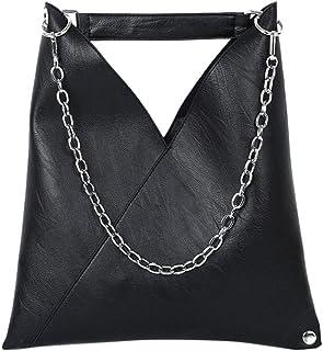 Black New Simple Handbag Retro Chain Messenger Bag Fashion Shoulder Bag