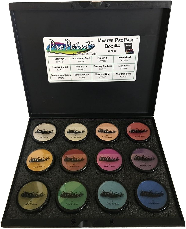 100% precio garantizado Graftobian PROPAINT PROPAINT PROPAINT - 12 de Color kit master   4  de moda