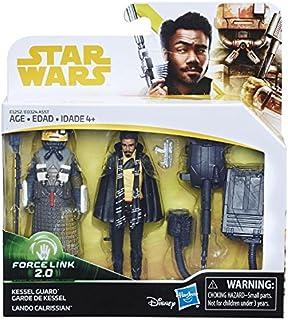 "Han Solo/Suta Basic 2 Pack - A Star Wars Story 2018 Force Link 2.0, 3.75"" Basic Figure, Lando Calrissian & Kessel Guard"
