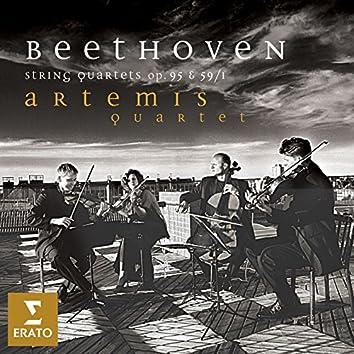 """Beethoven: String Quartets Nos 7, """"Rassumovsky No. 1"""" & 11, """"Serioso"""""""