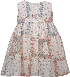 Bonnie Jean Vintage Floral Patchwork Sundress (0m-6x)