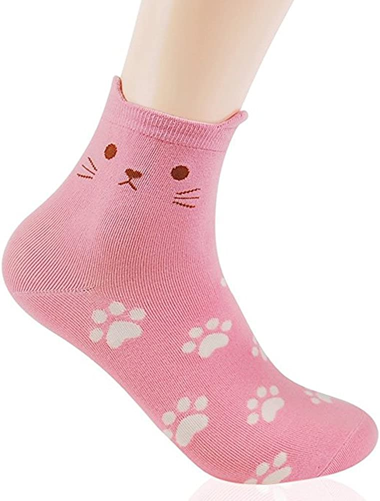 Womens Superior Best Socks Gift Set-Cute Art Cartoon NEW before selling ☆ Fu Animals Character