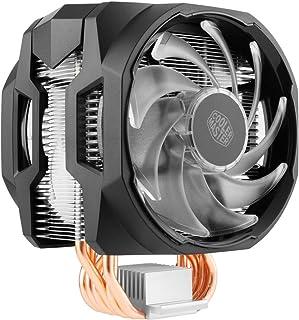 Air Cooler Para Processador Cooler Master MasterAir MA610P (RGB) Com 6 HeatPipes e Duas Ventoinhas 120mm