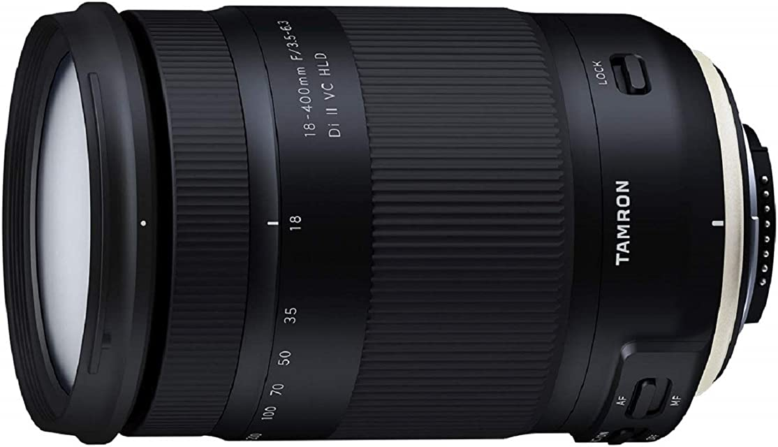 Tamron T80192 - Objetivo para cámara Nikon (18-400mm apertura F/3.5-6.3 Di II VC HLD B028)