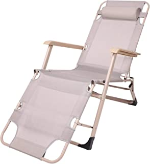 Zero Gravity Chairs, Oversized Heavy Duty Extra Wide Patio Recliner Sun Lounger for Beach Sunbathing, Support 330lbs,Grey