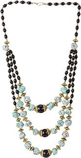 Crunchy Fashion Bollywood Traditional Indian/Bohemian Style Afgani Oxidized Gold Boho Gypsy Tribal Handmade Jewelry Neckla...