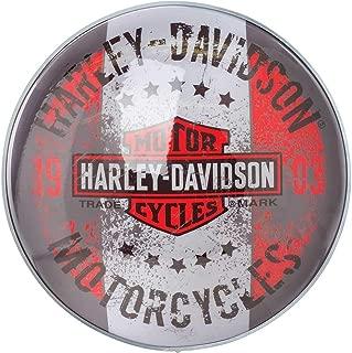 HARLEY-DAVIDSON Motorcycles Bar & Shield Distressed Dome Pub Light HDL-15630