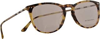 Burberry B 2258-Q-F Eyeglasses 55-19-145 Light Havana w/Demo Clear Lens 3278 BE BE2258Q B2258-Q-F
