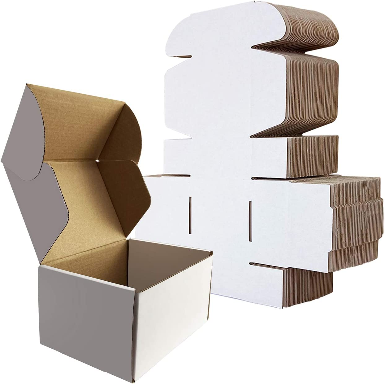 RLAVBL Small Shipping Sale SALE% OFF Boxes 6x4x3 Cardboard Box Corrugated White Max 86% OFF