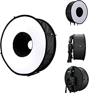 Almencla Photography Flash Softbox Diffuser Speedlight Softbox Reflector Round 30cm