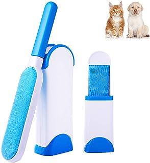 AlfaView Removedor de pelo para mascotas con base de autolimpieza Pelo reutilizable del pelo del perro del gato que quita el sistema de cepillo para el asiento de carro de la cama del sofá de la ropa
