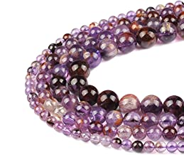 FANGQUN Super Seven Gemstone Beads for Jewelry Making Natural Powerful Stone Energy Beads for Bracelets Necklaces (45pcs, 8mm)