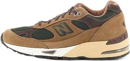 Sneakers NEW BALANCE nabuk marrone, nuova collezione autunno inverno 2017/2018