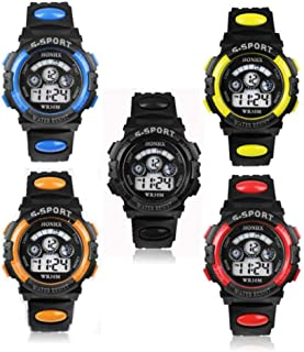 HONHX S-Sport Kid's Teen's Digital LED Watch. Alarm Date...