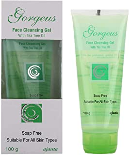 GORGEUS FACE CLEANSING WITH TEA TREE OIL Gel 100gm