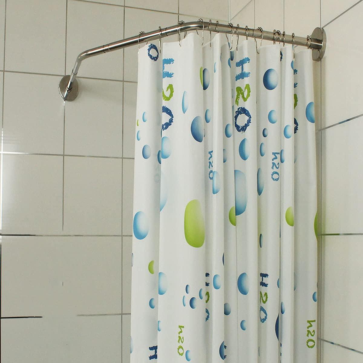 YLJXXY Bathroom Curved Shower Rod Curtain Mesa Mall New Free Shipping Rac Corner