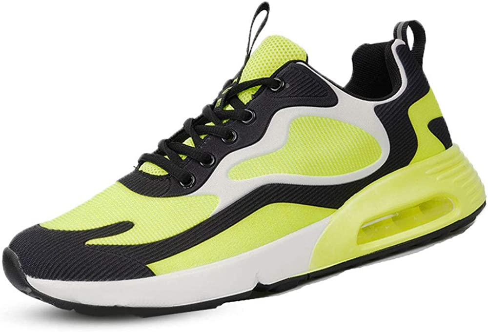 FJPTREN Mens Sports Running Shoes Womens Air Cushion Sneakers fo