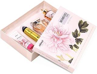Armaf Momento Fleur For Women, 4 Piece Gift Set, Fleur Eau De Parfum - 100ml, Body Lotion - 100ml, Perfumed Body Spray - 5...