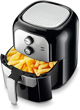 6L Air Fryer, Low-fat Healthy Cookware Without Frying Fries Oven, 30 Minutes Timer and Adjustable Temperature Control, 1400W