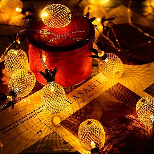 Twinkle Star 10 LED 6.6 ft Diamond String Lights Battery...