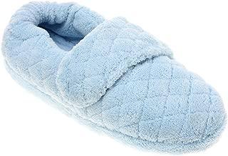 Women's Spa Wrap Slippers Powder Blue M