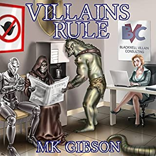 Villains Rule     The Shadow Master, Book 1              By:                                                                                                                                 M. K. Gibson                               Narrated by:                                                                                                                                 Jeffrey Kafer                      Length: 9 hrs and 50 mins     1,271 ratings     Overall 4.5