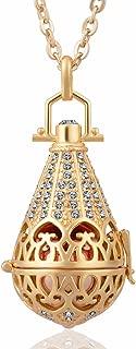 Harmony Bola Zirconia Vintage Pendant 16mm Prayer Bell Angel Chime 30
