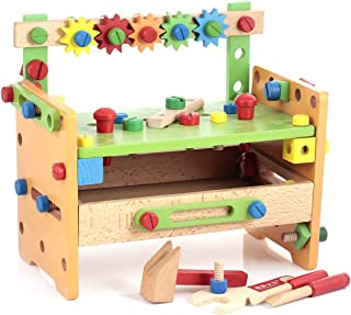 Canoe Wooden Workstation Tools Toy - CT181216RJ34