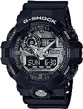 G-Shock GA-710 Ana-Digi Black Silver