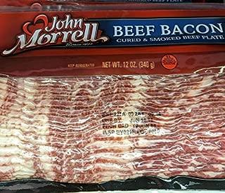 John Morrell Beef Bacon 12 Oz (4 Pack)