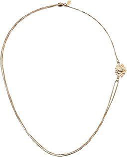 Precious II Collection Lotus Peace Petals Adjustable Necklace