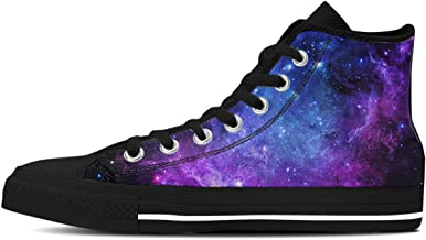 Purple Galaxy Math Functions Equations Womans Flat Bottom Casual Shoes Simple Sneakers