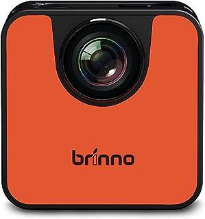 Brinno Action Cameras 720P Resolution , Unavailable Optical Zoom and Unavailable Screen Size Camcorder - TLC120A