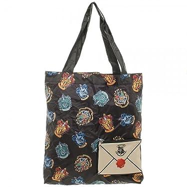 Harry Potter Hogwarts Crest Packable Tote Bag