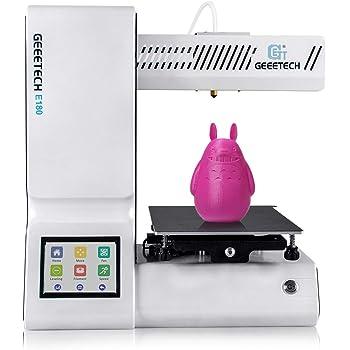 GIANTARM geeetech E180 - Mini impresora 3D con pantalla táctil a ...