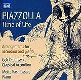 PIAZZOLLA: Time of life. Arreglos para acordeón y piano
