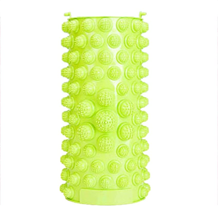 呪い科学的カビ足のマッサージパッドの痛みを軽減するウォークストーンマッサージャーマット筋肉刺激装置ヘルスケア指圧療法リラクゼーショングリーン - グリーン