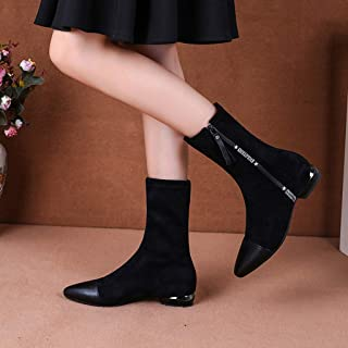 95sCloud Botines de mujer Chelsea Boots Mujer Botas de invierno Botas de tobillo Botines Planas de Invierno Botines Calent...