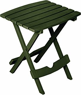 Adams Manufacturing 8500-60-3700 Plastic Quik-Fold Side Table, Earth Brown