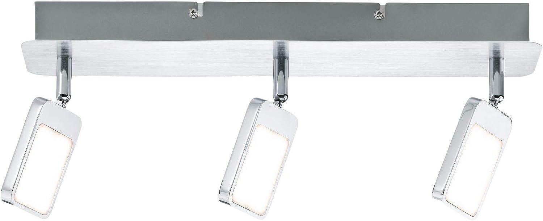 Paulmann 66644 Spotlight Mic 3x4,5W Chrom 230V Metall 666.44 Deckenleuchte Lampe LED Deckenlampe Deckenstrahler