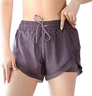 S-Fly Womens Comfy Elastic Summer Yoga Quick Waist Dry Gym Workout Shorts