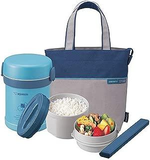 Zojirushi SL-MEE07AB Ms. Bento Stainless Lunch Jar, Aqua Blue, One size,