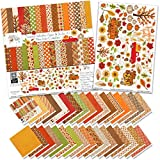 Paper & Sticker Kit - Sweater Weather - 17 Double-Sided 12x12 Papers with 33 Designs & 1 8X12 Sticker Sheet -...