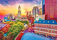 大人のジグソーパズル-街の風景写真-教育家族を学ぶ就学前の子供のための6000ピースのジグソーパズルゲーム