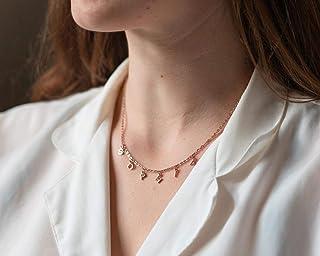 Glyph Collar  Brass Choker Necklace  Minimalist Jewelry