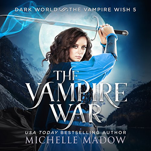 The Vampire War audiobook cover art