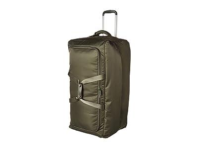 Lipault Paris 0% Pliable 30 Wheeled Duffel (Khaki) Duffel Bags