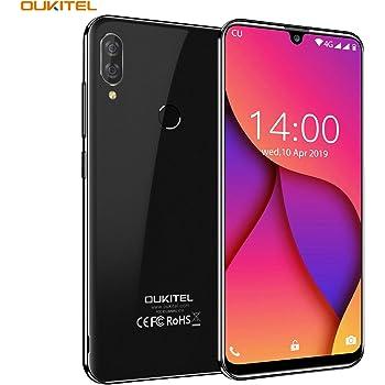 OUKITEL C16 Pro Dual 4G Smartphone Libre, Android 9.0 Quad-Core ...